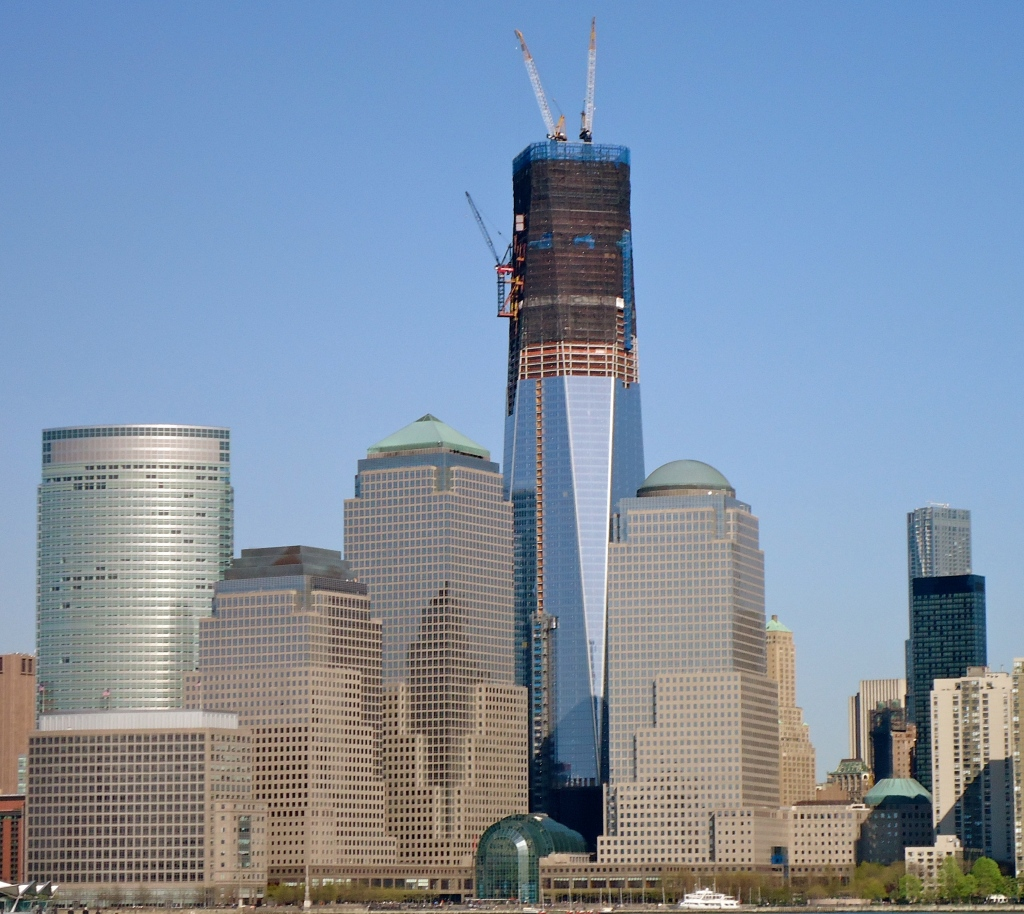 The Tallest Building In New York City Freedom Tower Rising